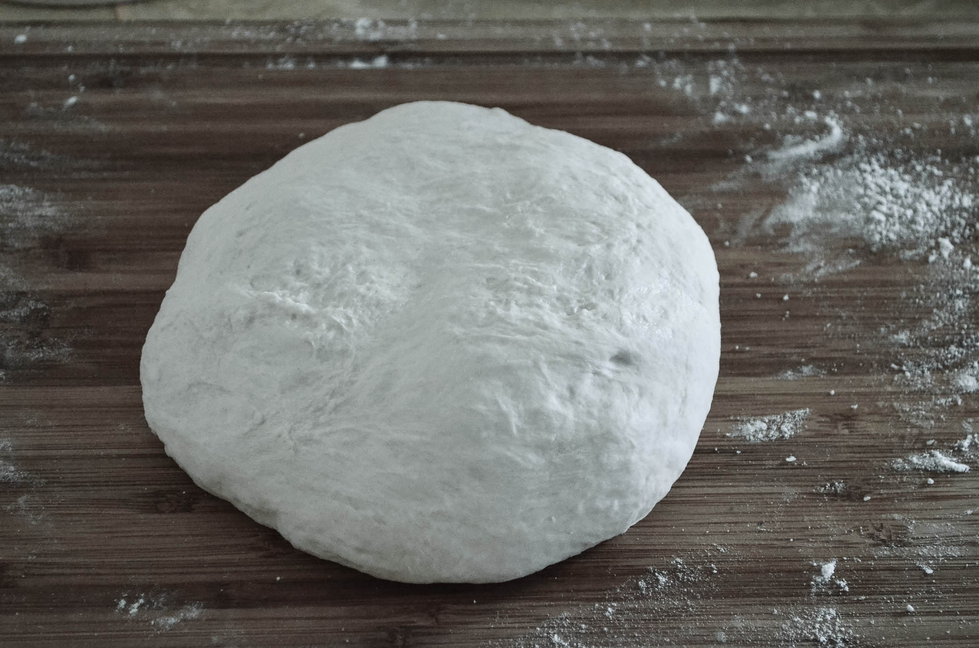 proofed dough