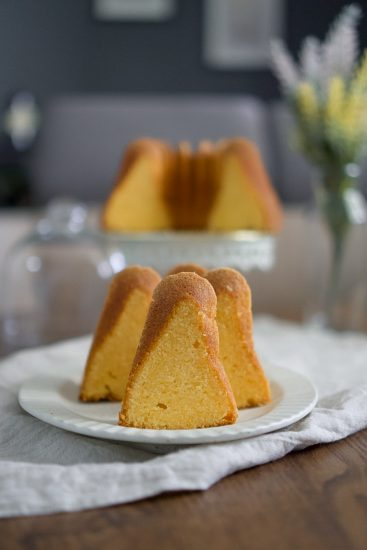 Rich and flavourful butter bundt cake