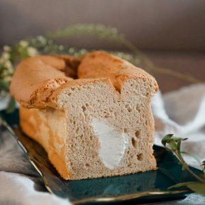 cream filled chiffon cake