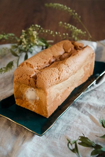 royal milk tea chiffon cake
