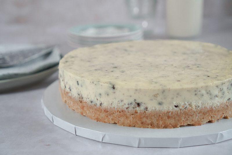 whole Oreo cheesecake